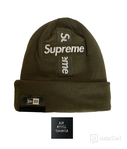 Supreme Cross Box Logo Beanie