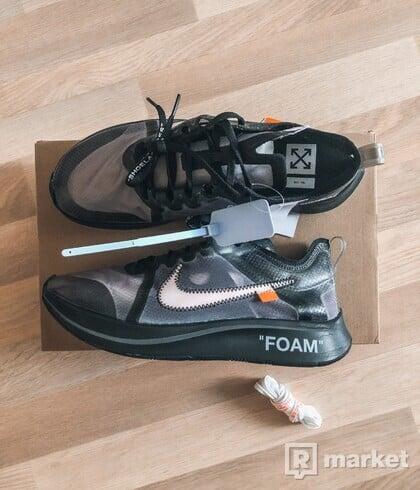 Nike x Off white zoomfly black