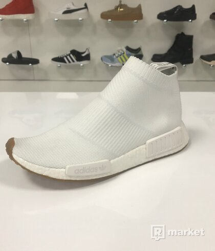 Adidas NMD CS1 Tripple White Gum Pack