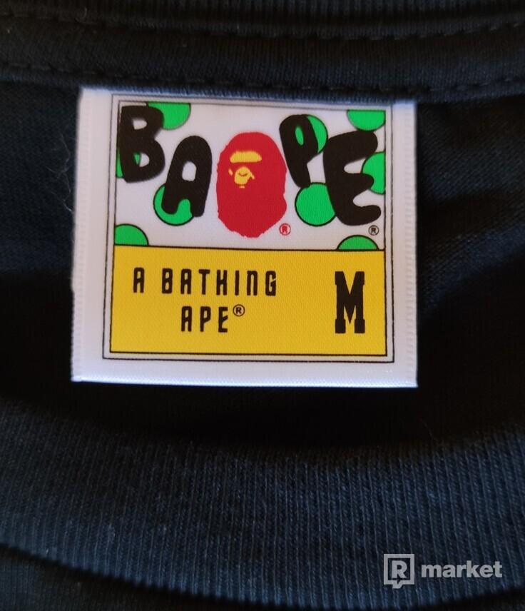 Bathing Ape Neon Tokyo Ape Face tee