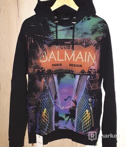 BALMAIN Neon Lights Hoodie