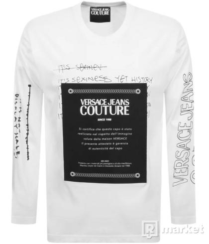 Tričko versace jeans couture