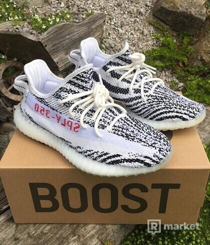 Yeezy Boost 350v2 Zebra US8