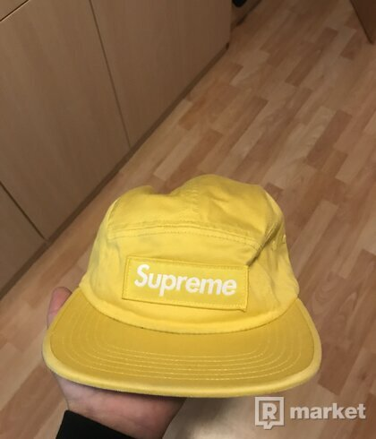 Mustard Yellow Supreme 5 Panel Hat