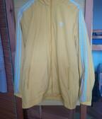 Adidas yellow windbreaker