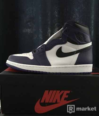 "Nike Air Jordan 1 - ""Court Purples"""