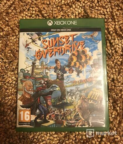 Xbox One hry - Batman Arkham Knight, Sunset overdrive