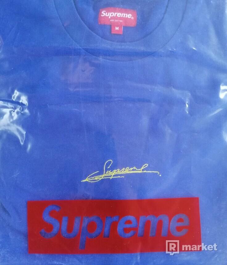 Tričko Supreme Signature