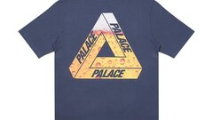 Palace Tri-Lager Tee Navy