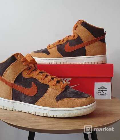 "Nike Dunk High Retro PRM ""Dark Russet"""