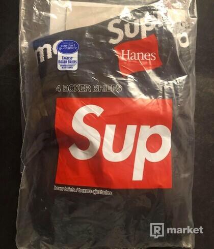 Supreme boxers black S