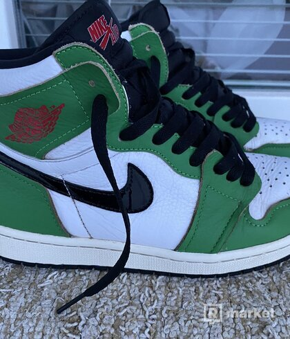 """Air Jordan 1 High """"lucky green"""""""