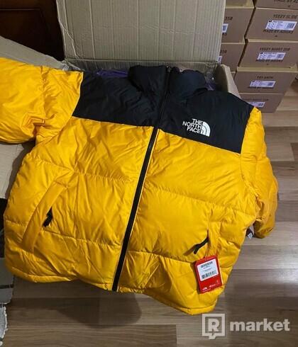 The North Face M 1996 Retro Nuptse Jacket Yellow L