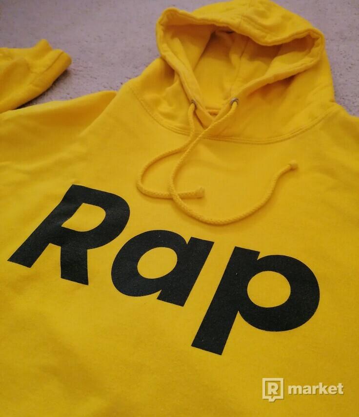 RAP HOODIE - sun yellow