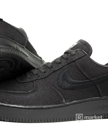 "Nike Air Force 1 Low x Stussy ""Black"""