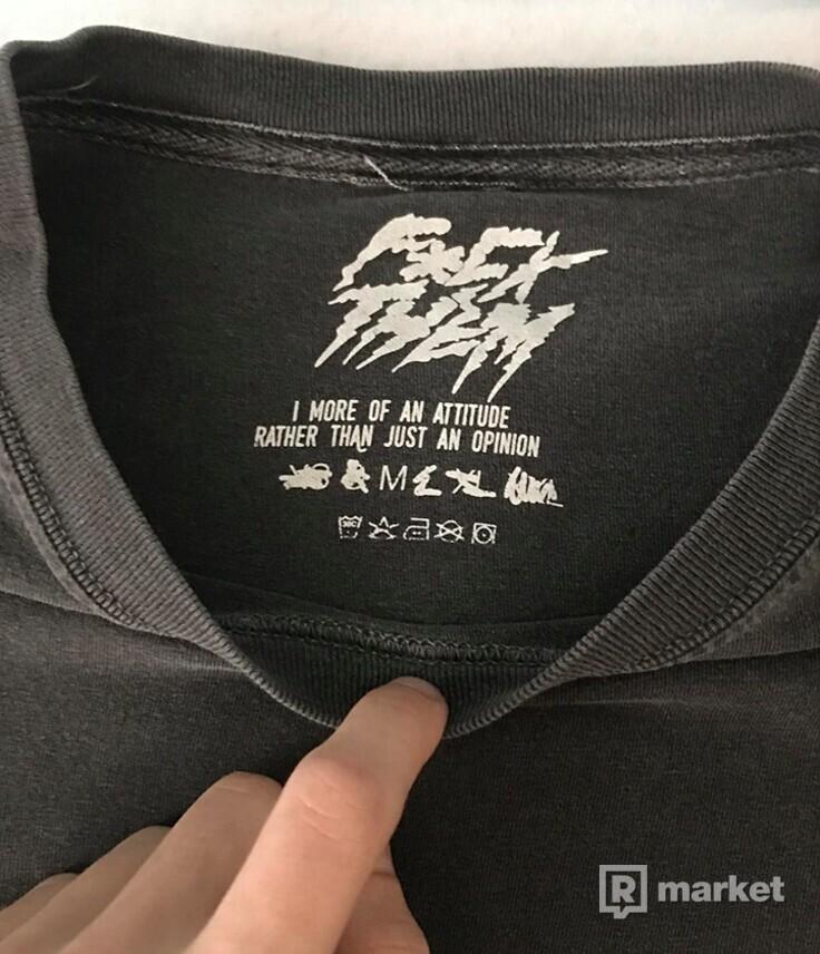 Tričko Global Dalybhahacrew Washed