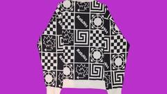 PACCBET/RASSVET geometric pattern crewneck jumper