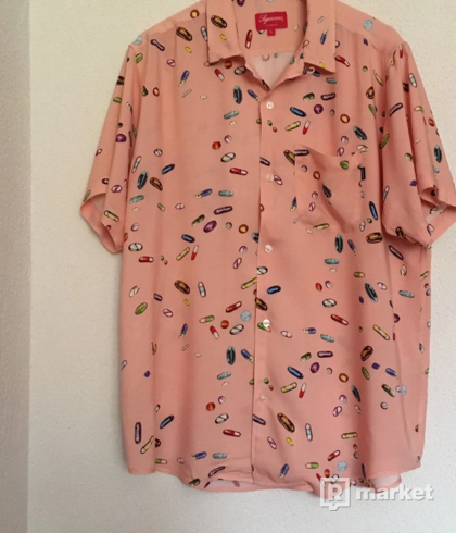 Supreme Pills Rayon Shirt