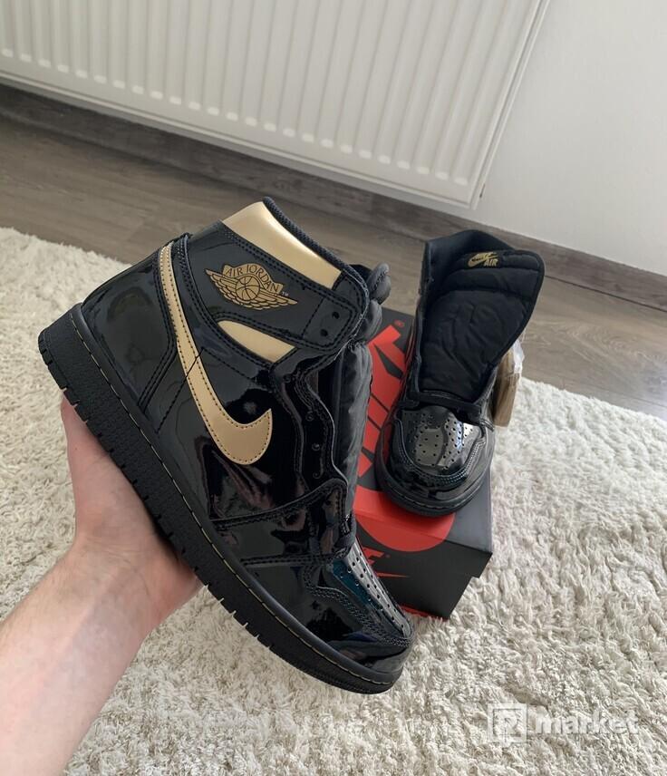 Air Jordan 1 High Metalic Gold