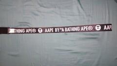 AAPE by A Bathing Ape obojstranný opasok