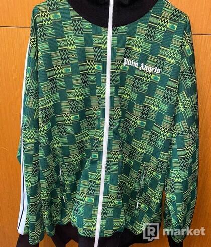 Palm Angels Jacquard knit jacket XL