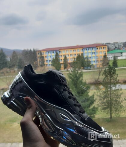 Ráf simons silver/black