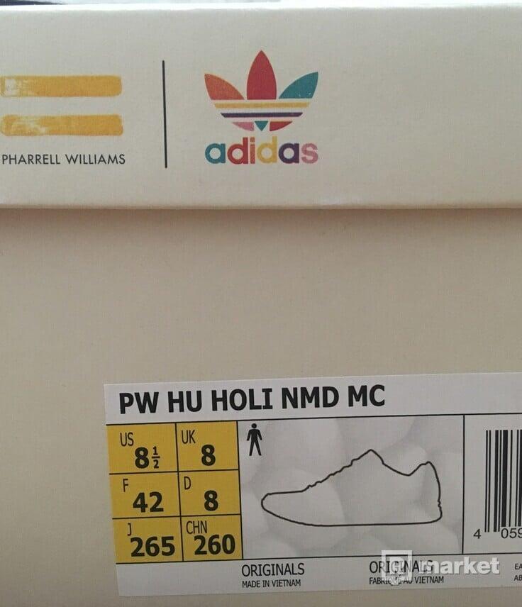 adidas nmd hu holi/pink glow