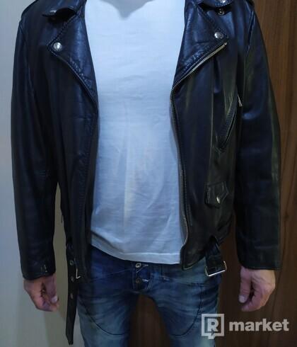 Pánska kožená bunda (pravá koža)