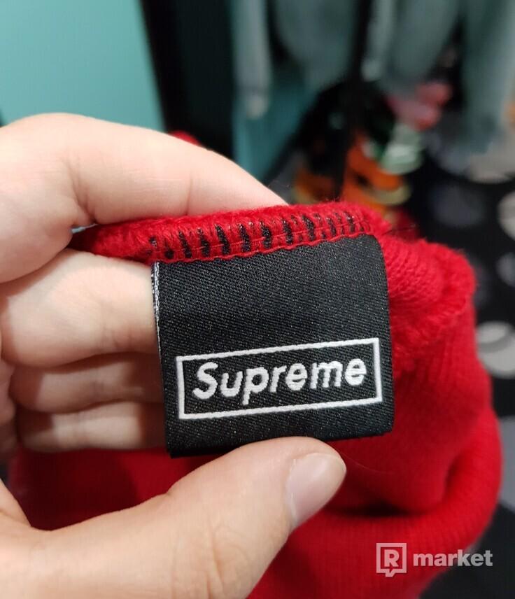 Supreme bandana box logo beanie