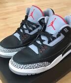 Nike Air Jordan 3 Black Cement OG