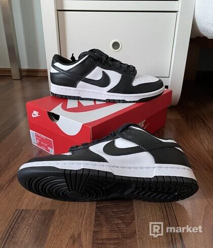 "Nike Dunk Low ""Black & White"""