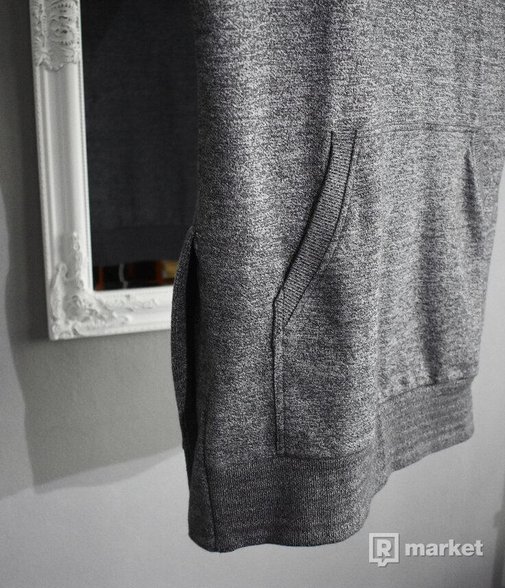 FAVELA Clothing Sleeveless Hoodie Grey