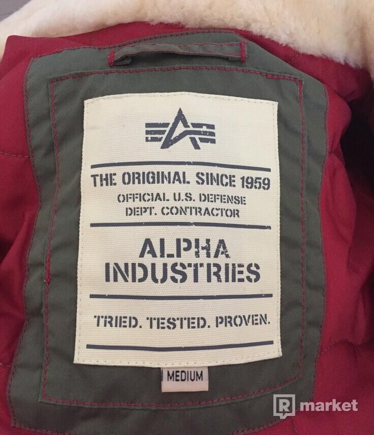 Alpha Industries Injector III Patch / Sage Green