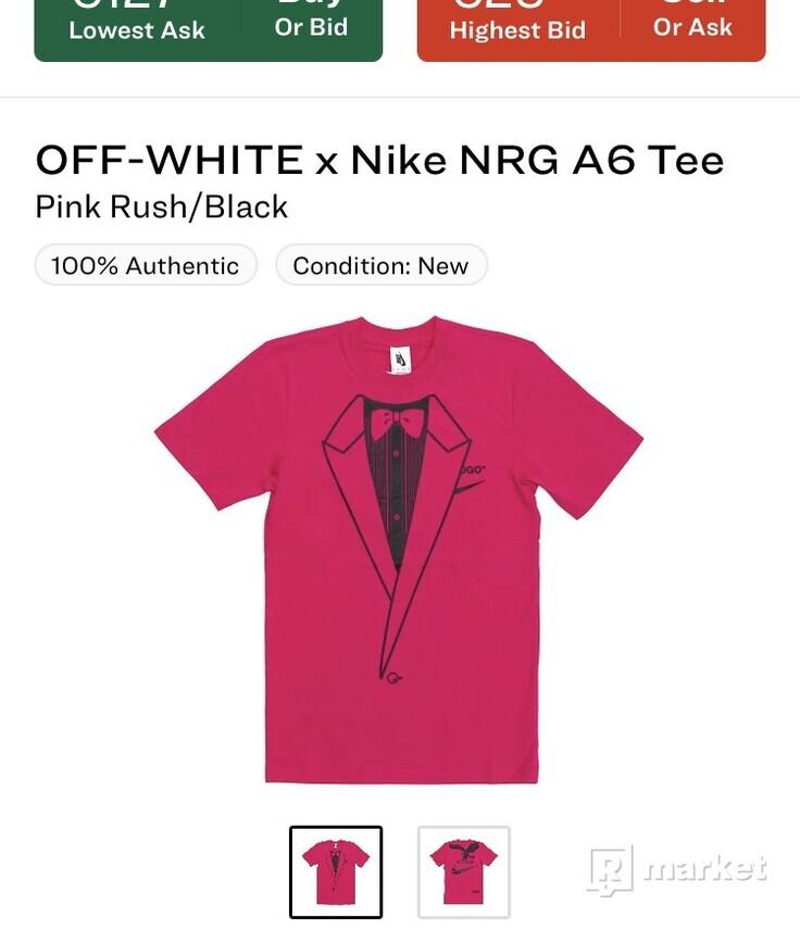 OFF-WHITE x Nike NRG A6 tee