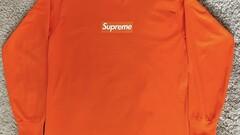 Supreme box logo orange