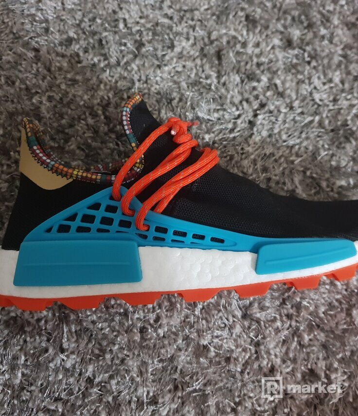 Adidas NMD human race pharrell inspiration pack black