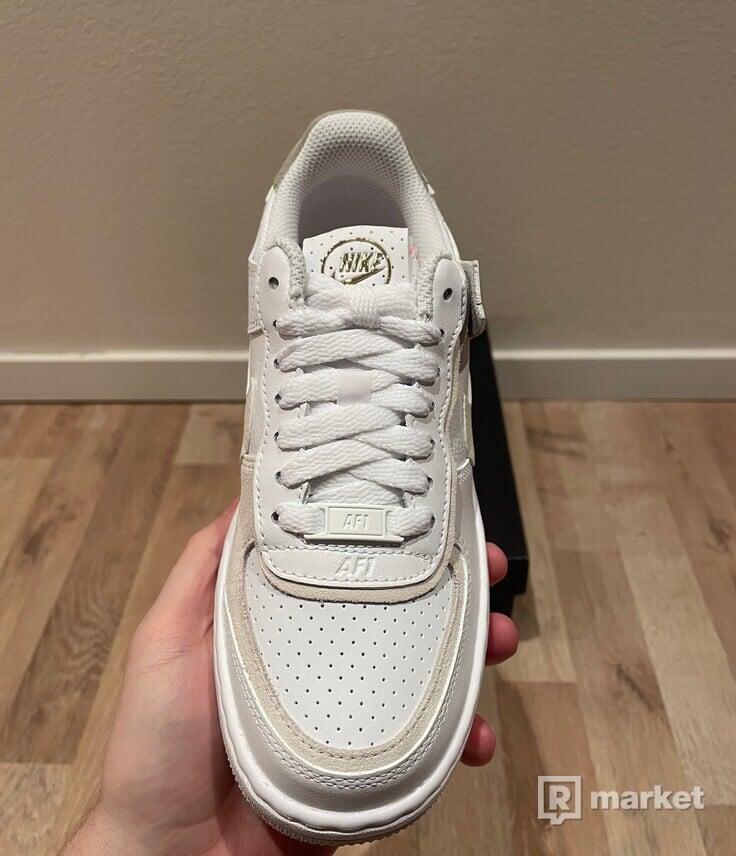Nike Air Force 1 Shadow White Stone Atomic Pink