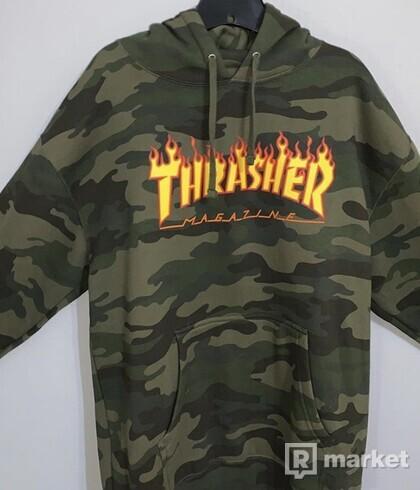 Thrasher camo hoodie