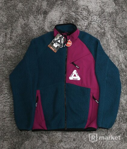 Palace Polartec Fleece Dark Green/Purple