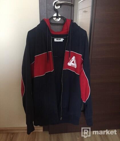Palace zip hoodie