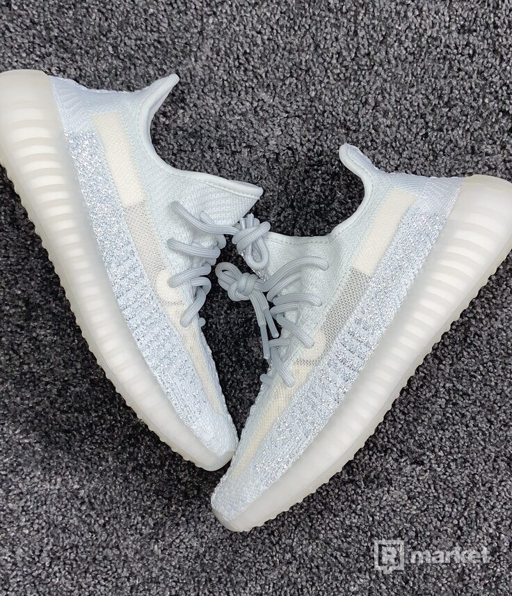 """Adidas Yeezy Boost 350 V2 ,,Cloud White"""" (Reflective)"""