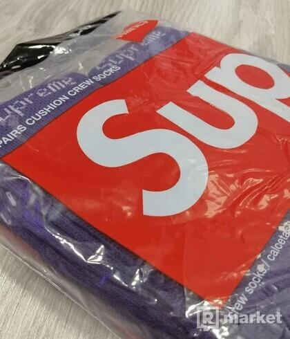 Supreme Socks Purple fialové(ponožky)