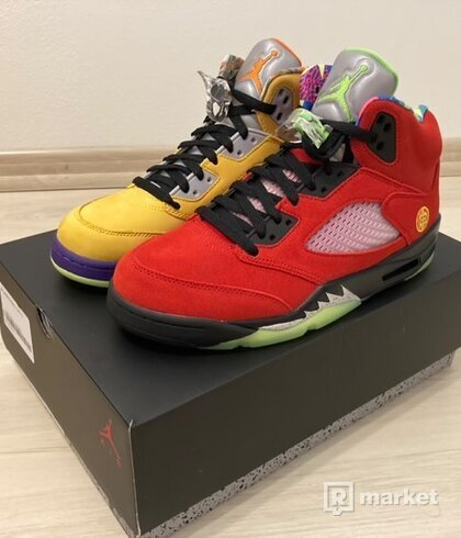 Air Jordan 5 Retro What the