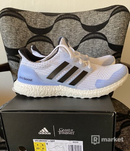 idas Ultra Boost x Game of Thrones GoT White walker