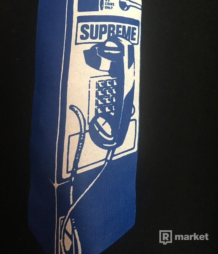 Wts-Supreme Payphone Tee Black