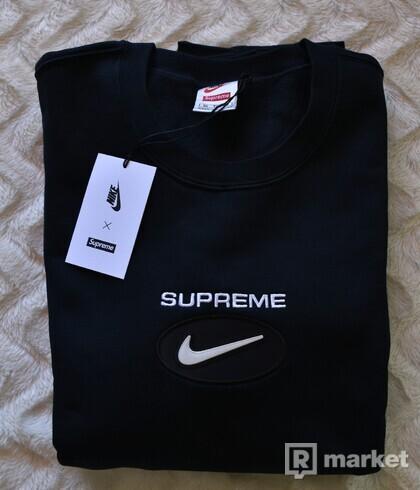Supreme Nike Jewel Crewneck Black XL