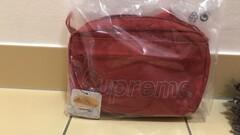 Supreme shoulder bag red fw18