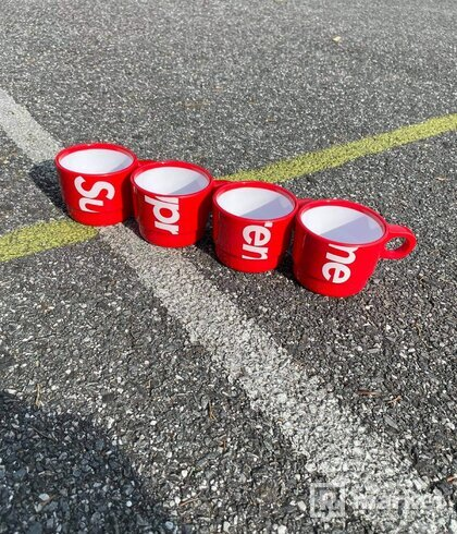 Supreme stacking cups (set of 4)