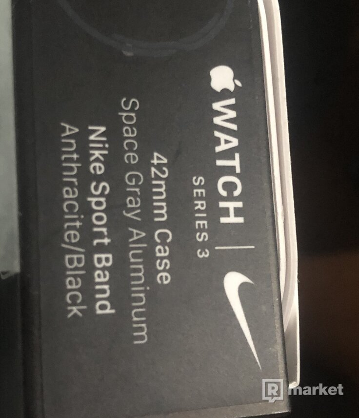 Apple watch 3 Nike 42mm