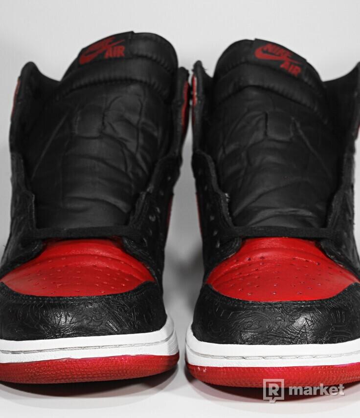 """Air Jordan Retro 1 High OG """"Laser-Bred Custom"""""""